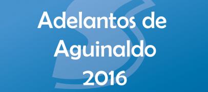 Aguinaldo Diciembre 2016
