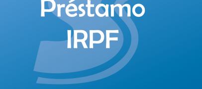 Préstamo IRPF