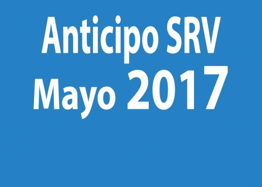 Anticipo SRV 2017